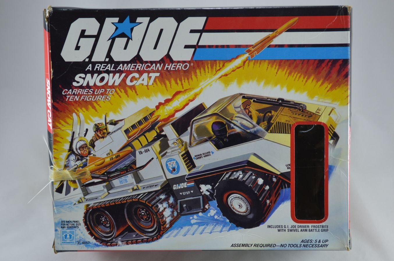 GI Joe Snow Cat Vehicle MIB Vintage