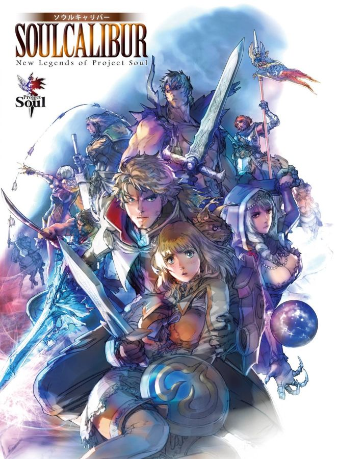 Soul Calibur New Legends of Project Soul SC Book