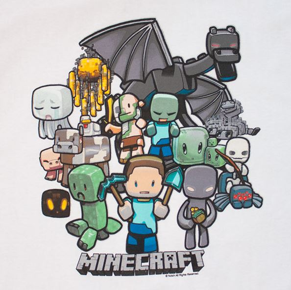 Minecraft Group T-Shirt