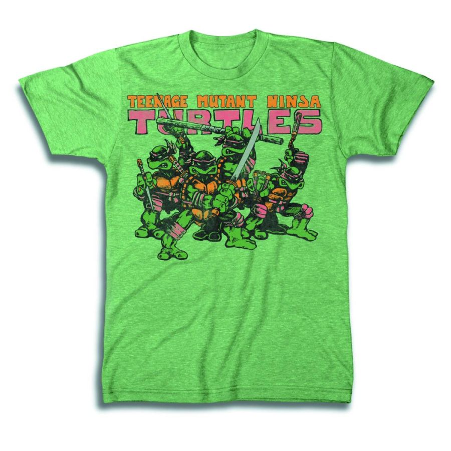 TMNT Group Logo T-Shirt