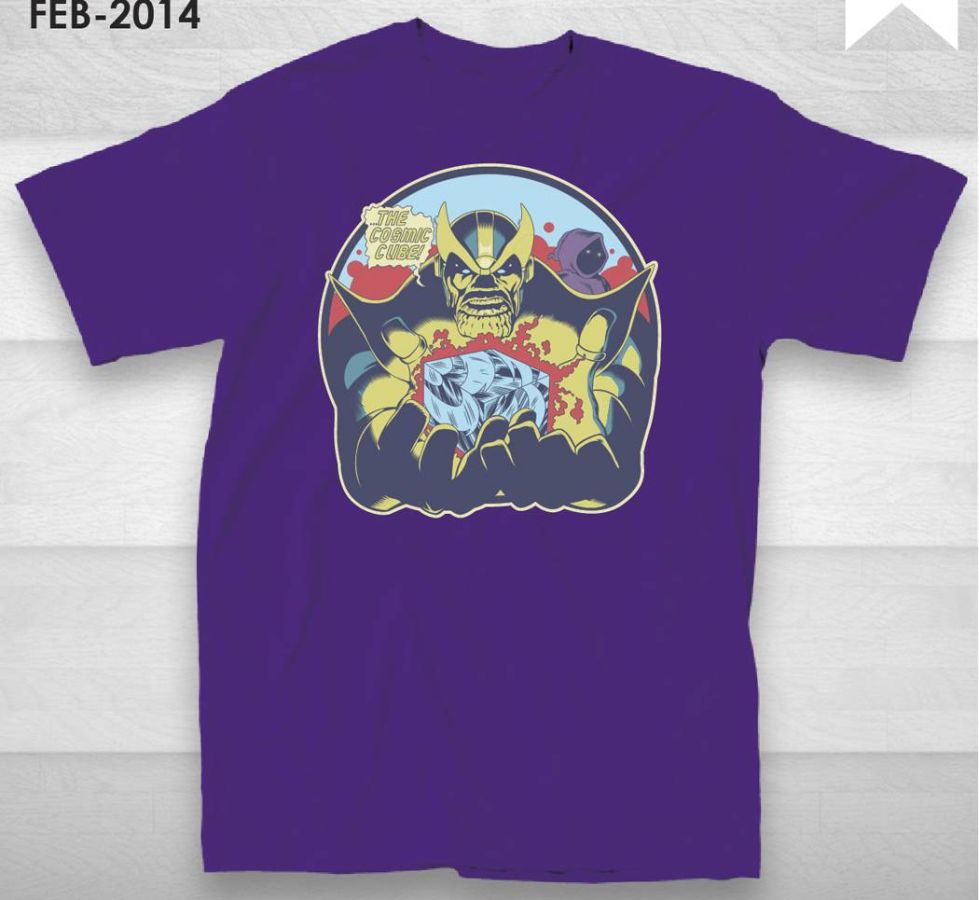Thanos Cosmic Cube T-Shirt