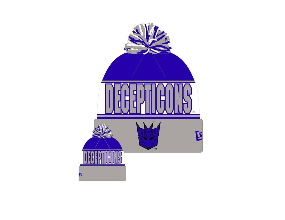 Transfomers Decepticons Knit Hat
