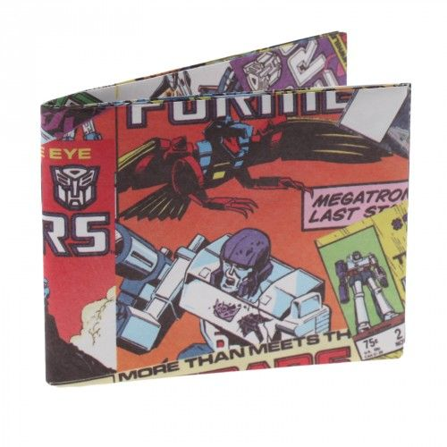 Transformers Super Wallet Comics Collage Version