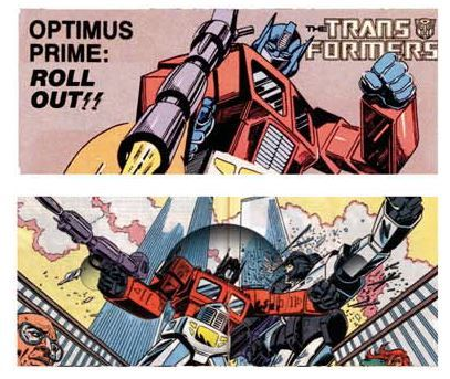 Transformers Super Wallet Comic Version