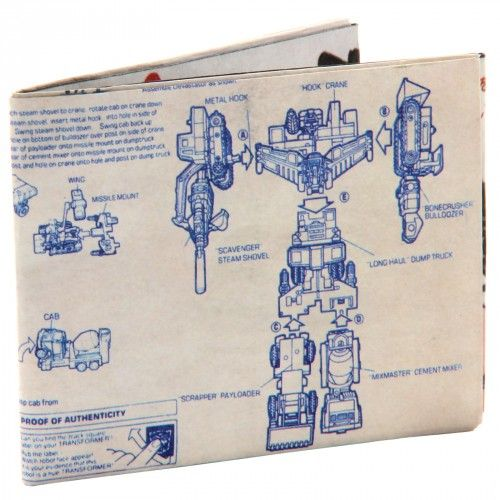 Transformers Super Wallet Instructions Version