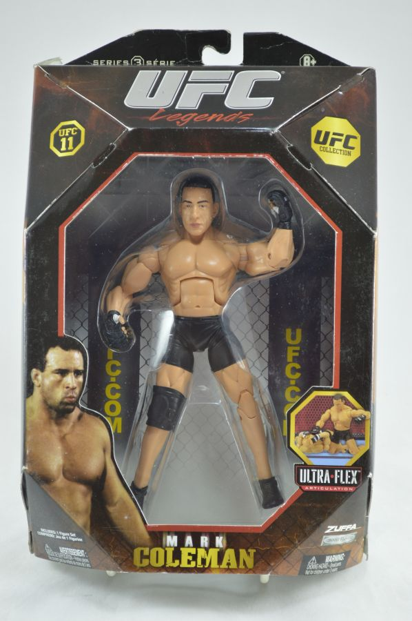 UFC Mark Coleman Figure Series 3 Jakks