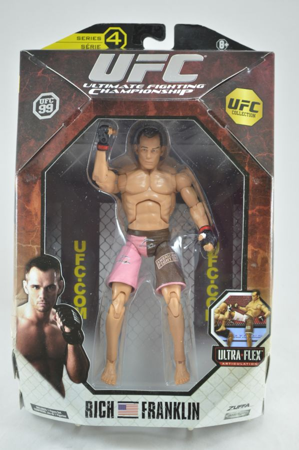 UFC Rich Franklin Figure Series 4 Jakks