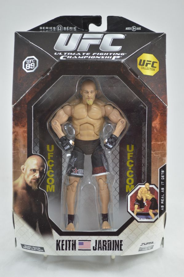 UFC Keith Jardine Figure Series 0 Jakks