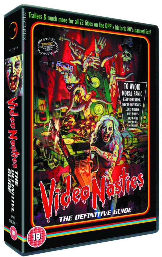 Video Nasties The Definitive Guide DVD