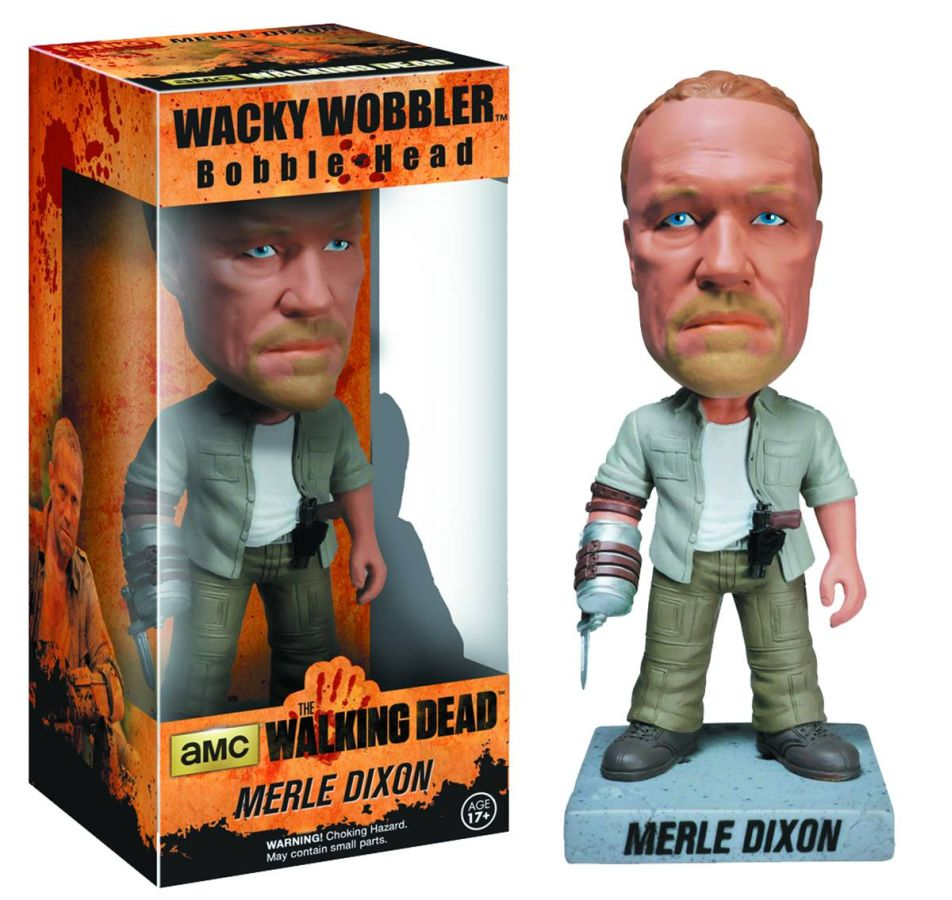 Walking Dead Merle Dixon Wacky Wobbler