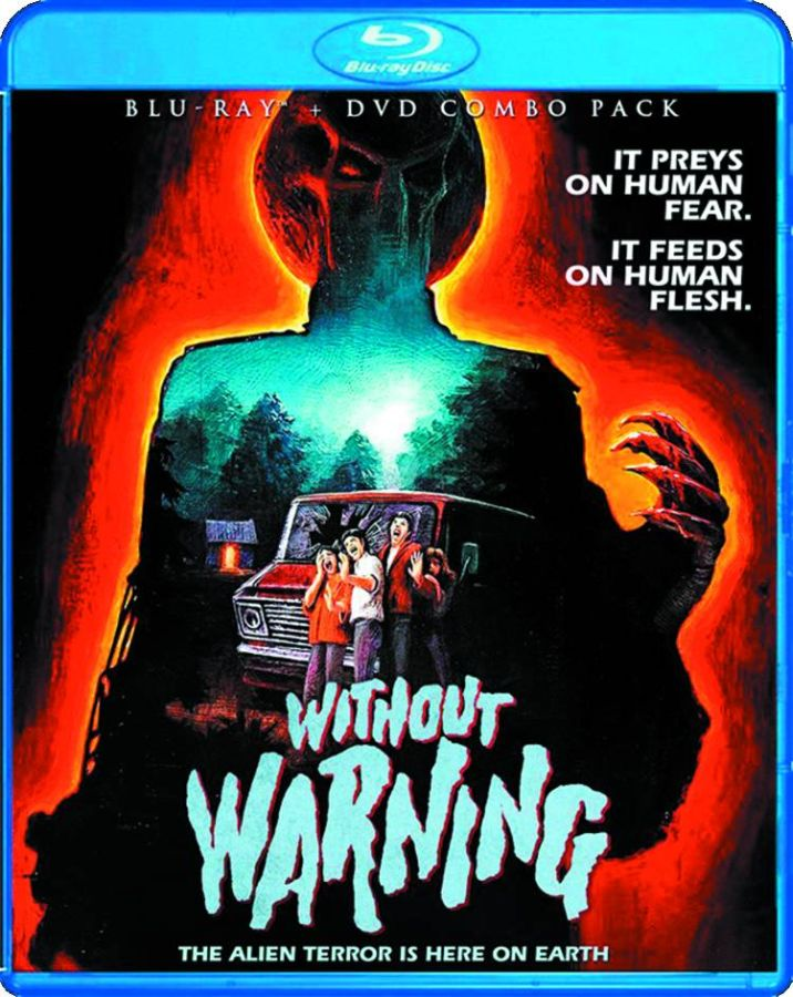 Without Warning Blu-Ray DVD