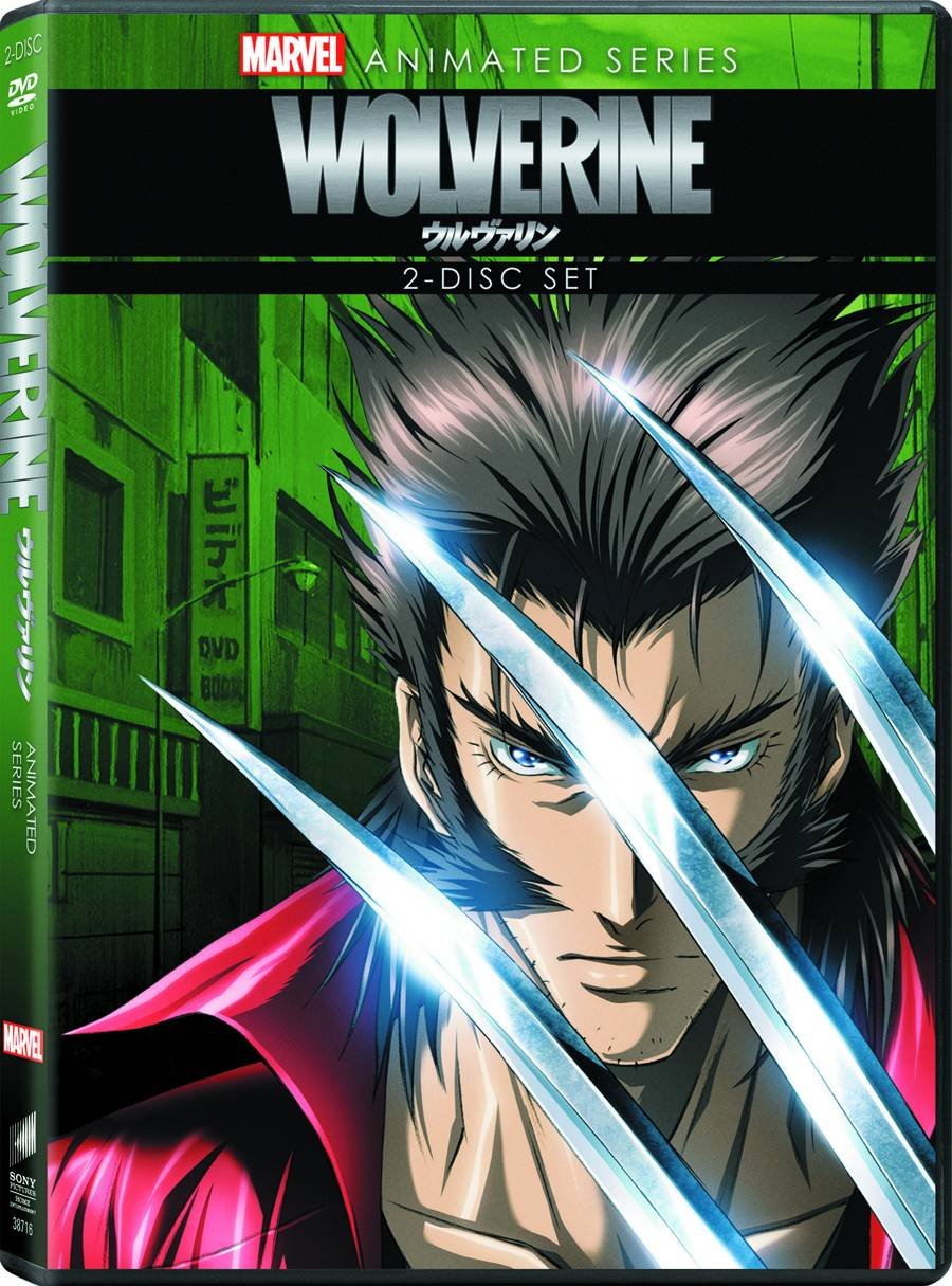 Wolverine Animated Series DVD