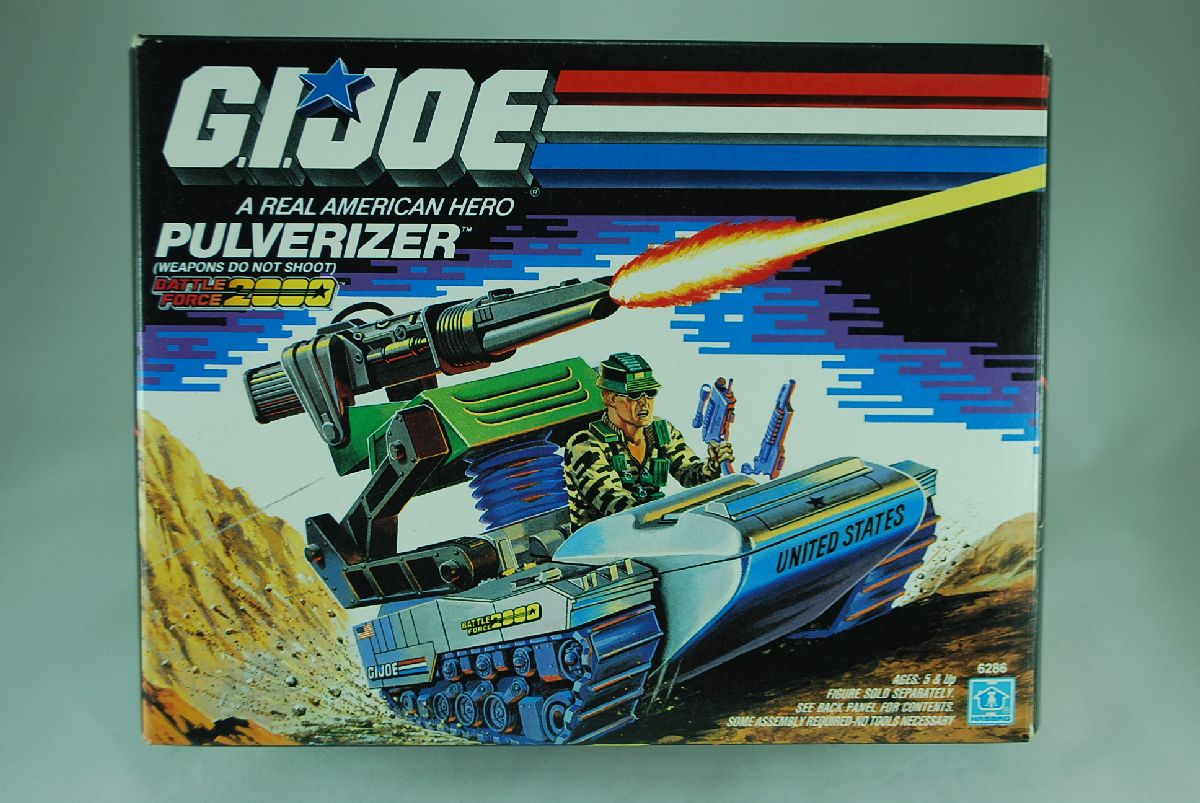GI Joe Battle Force 2000 Pulverizer